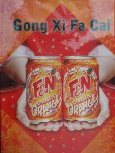 Gong Xi Fa Cai a l'orange