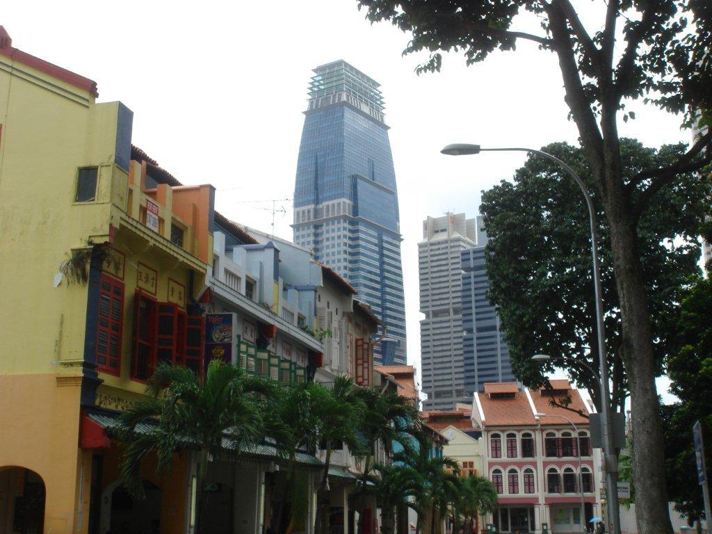 Vue de la city